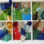 Bottles	Cindy Mullen		Recycled Glass on Window	$500