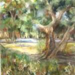 The Old Tree	Helen Thorne		Pastel	$800